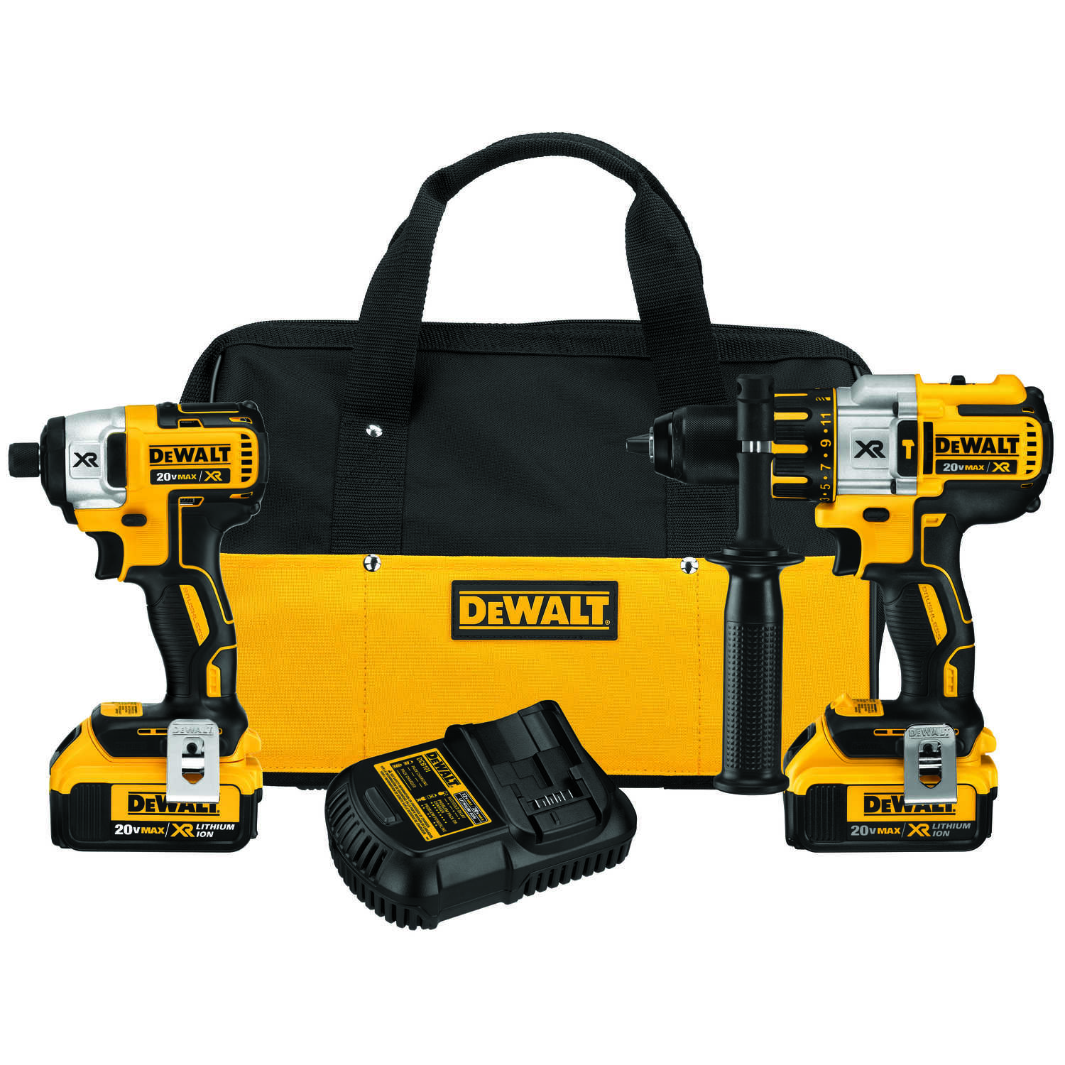 DeWalt  Cordless  Brushless 2 tools Combo Kit  20 volts