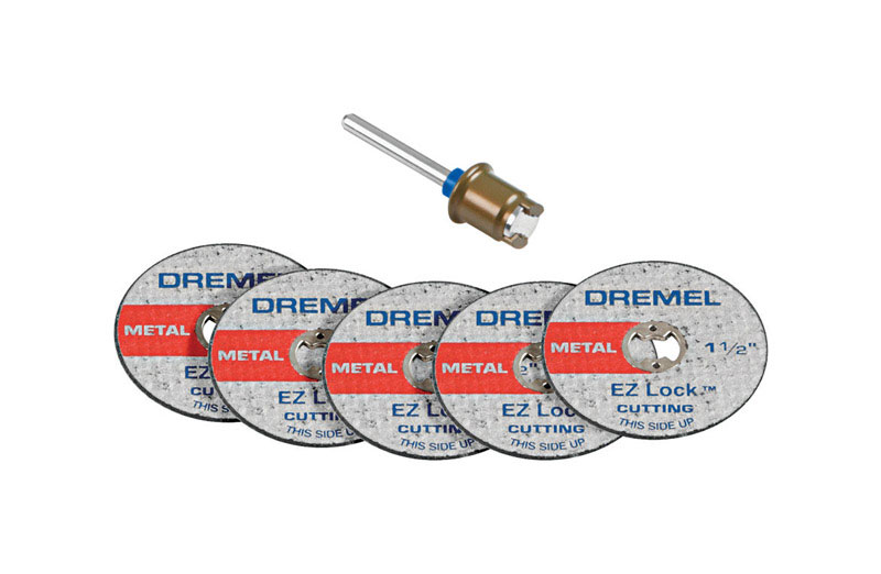 Dremel  EZ Lock  .75 in   x .75 in. L Fiberglass  Rotary Accessory Kit  5 pk
