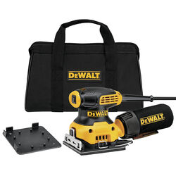 DeWalt  2.3 amps 120 volt Corded  1/4 Sheet  Palm Sander  14000 opm