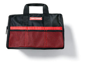 Craftsman 13 In W X H Ballistic Nylon Tool Bag 4 Pocket