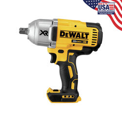 DeWalt 20V MAX 20 volt 1/2 in. Cordless Brushless Impact Wrench Tool Only