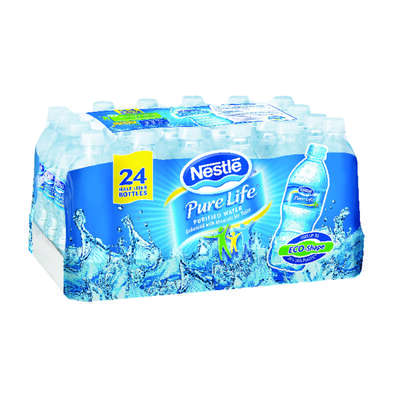 Nestle  Pure Life  Bottled Water  0.5 L 24 pk