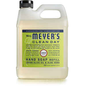 Mrs. Meyer's  Clean Day  Organic Lemon Verbena Scent Hand Soap Refill  33 oz.