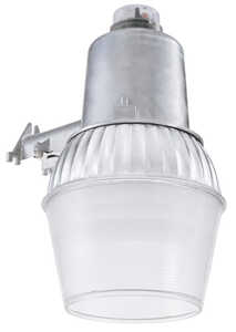 Lithonia Lighting  Dusk to Dawn  Hardwired  Gray  Area Light