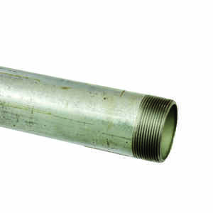 B&K Mueller  2 in. Dia. x 60 in. L Galvanized  Steel  Pre-Cut Pipe