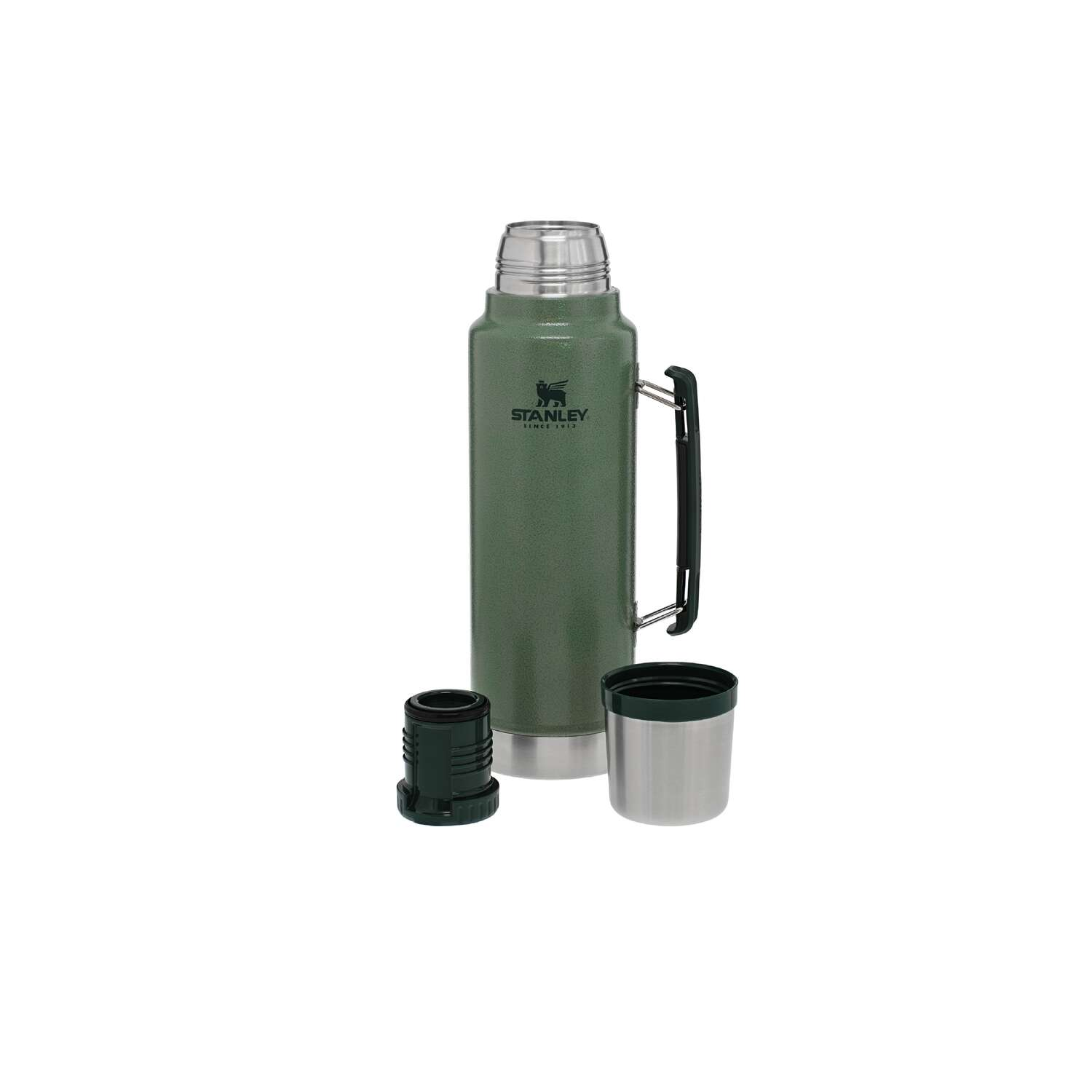Stanley  1.5 qt. Classic  Vacuum Insulated Bottle  Hammertone Green