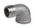 Smith-Cooper  1-1/2 in. FPT   x 1-1/2 in. Dia. FPT  Stainless Steel  Street Elbow