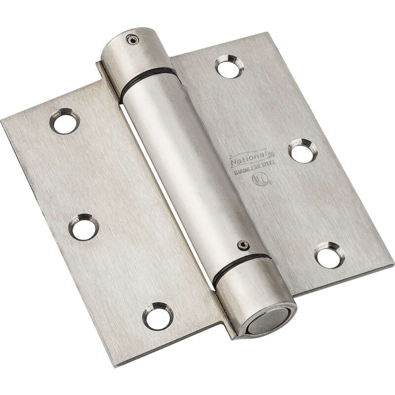 National Hardware  3-1/2 in. L Spring Hinge  1 pk