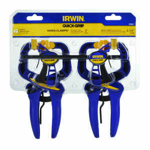 Irwin  Resin  Grip Clamps  Blue