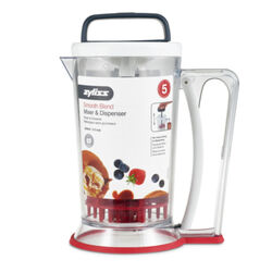 Zyliss  DKB  Black/Clear/Red  3.5 cups Hand  Mixer with Dispenser