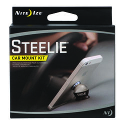 Nite Ize Steelie Black/Silver Cell Phone Car Mount For All Mobile Devices