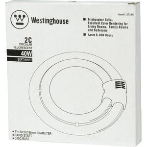 Westinghouse  40 watts T6  7.5 in. L Fluorescent Bulb  Warm White  Tubular  3000 K 1 pk