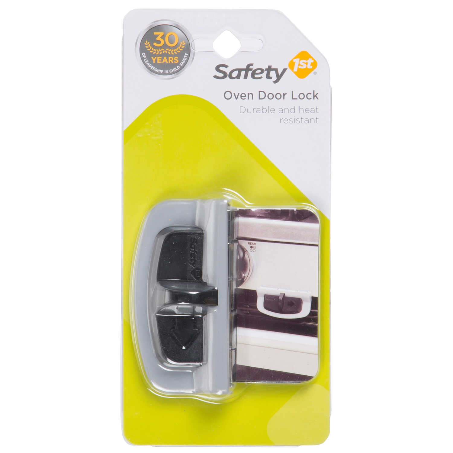 Safety 1st  Charcoal  Plastic  Oven Door Lock  1