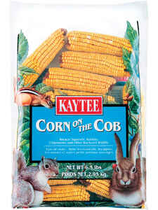 Kaytee  Assorted Species  Squirrel and Critter Food  Corn  6.5 lb.