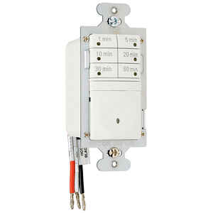 Pass & Seymour  Indoor  7 Button Timer Switch  120 volt Almond