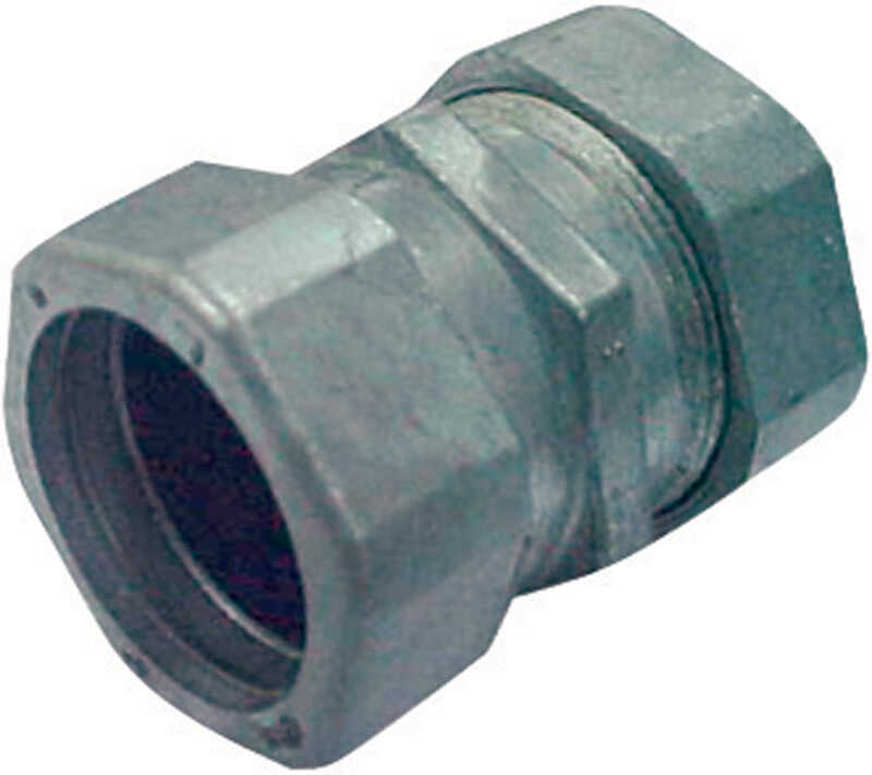 Sigma  3/4 in. Dia. Zinc  Compression Coupling  For EMT