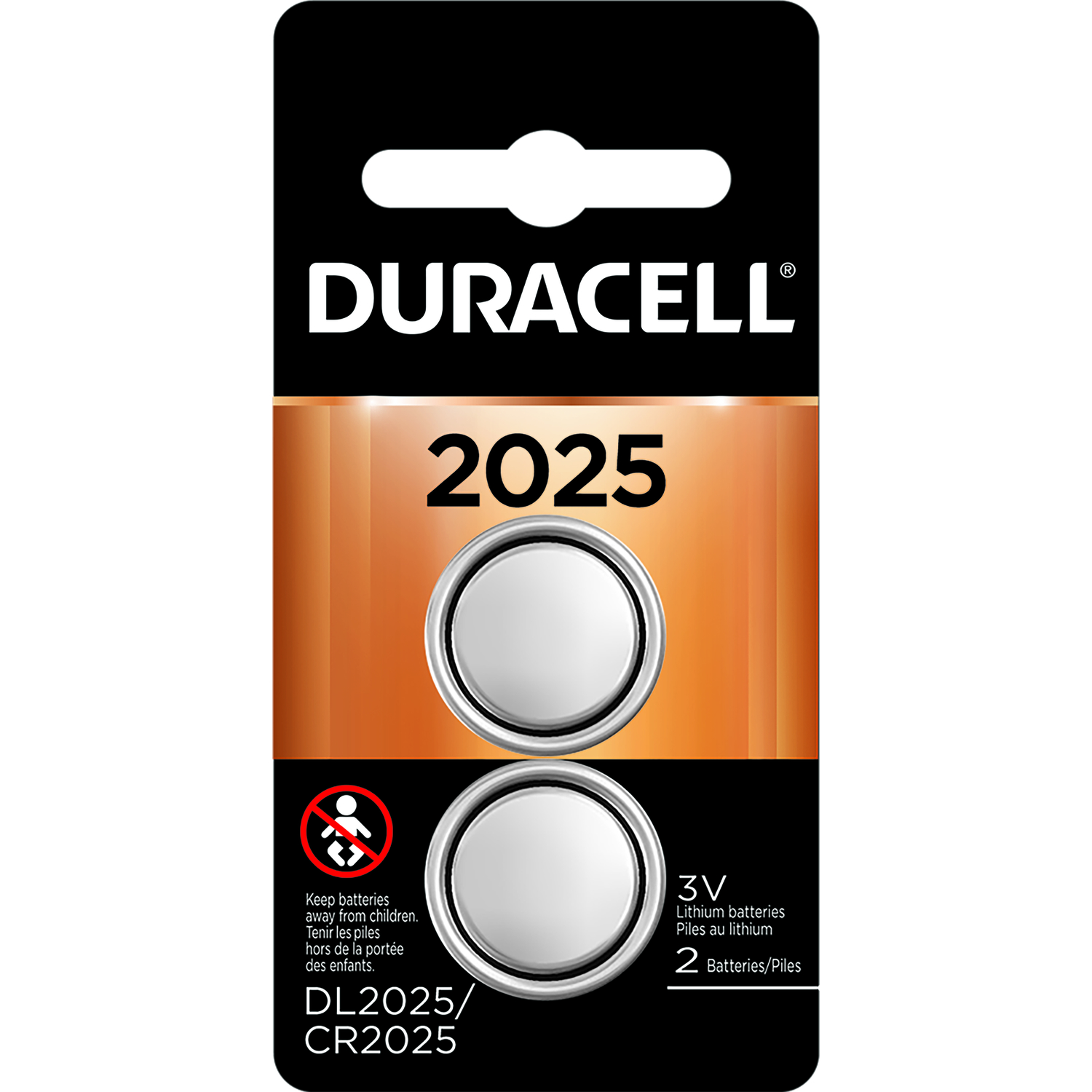 Duracell  2025  Lithium  Medical Battery  2 pk