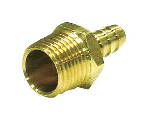 JMF  Brass  Hose Barb  5/16 in. Dia. x 1/4 in. Dia. Yellow  1 pk