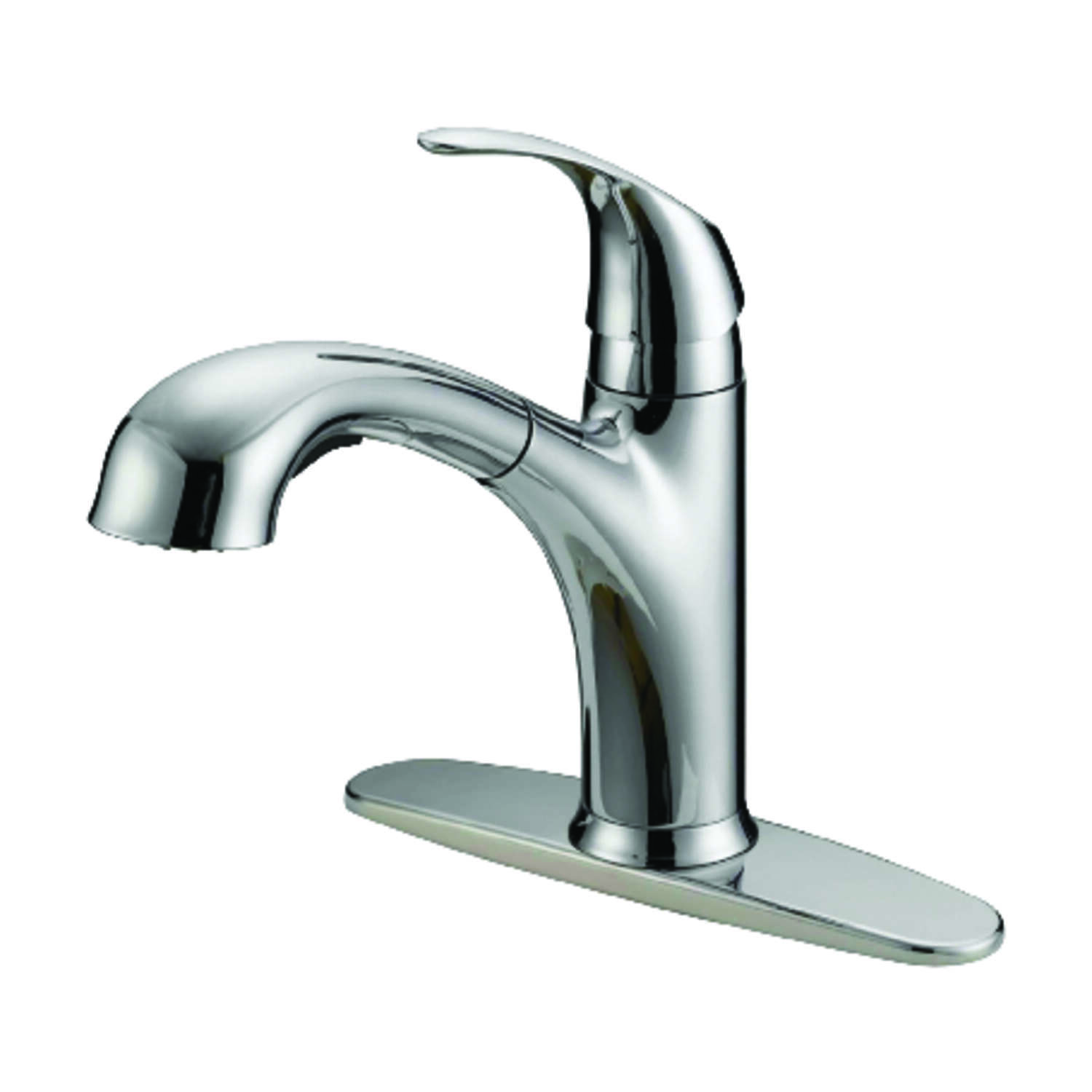 OakBrook Washerless Cartridge One Handle Chrome Kitchen Faucet Ace - Ace hardware kitchen faucets