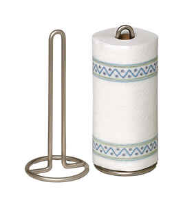 Spectrum  Euro  Steel  Freestanding  Paper Towel Holder  12.5 in. H x 5.5 in. W x 5.5 in. L