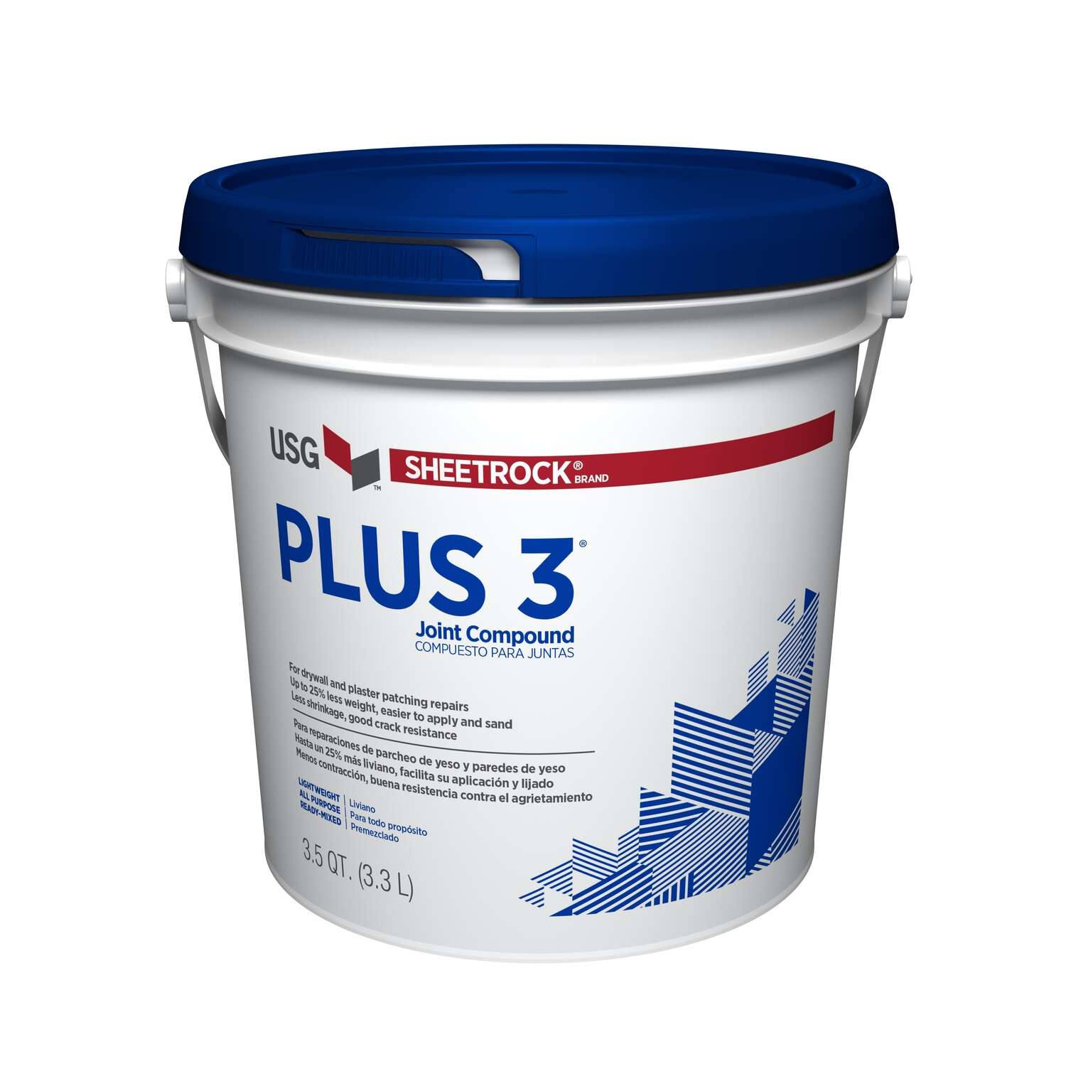 Sheetrock  Off-White  All Purpose Lightweight  Joint Compound  3.5 qt.