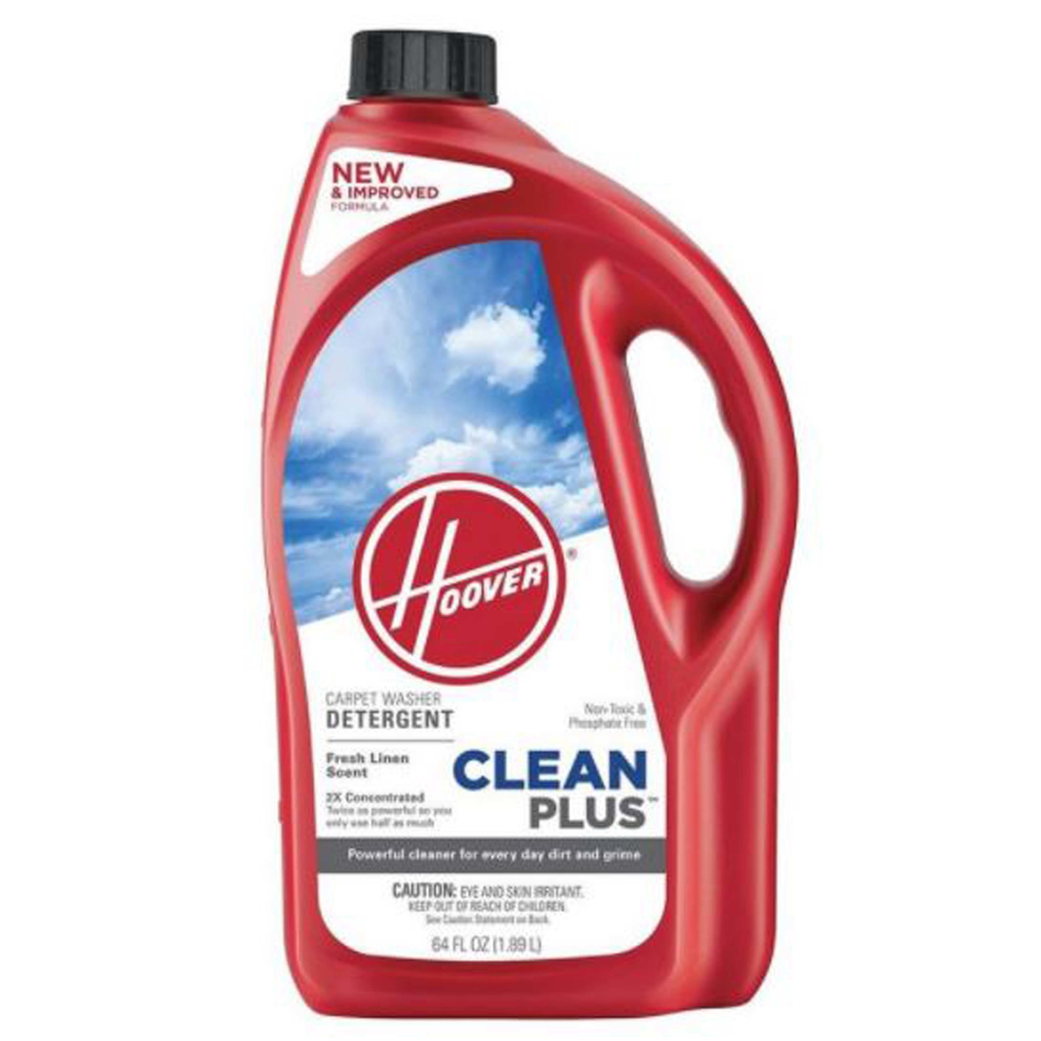 Hoover  Clean Plus  Fresh Linen Scent Carpet Washer Detergent  64 oz. Liquid  Concentrated