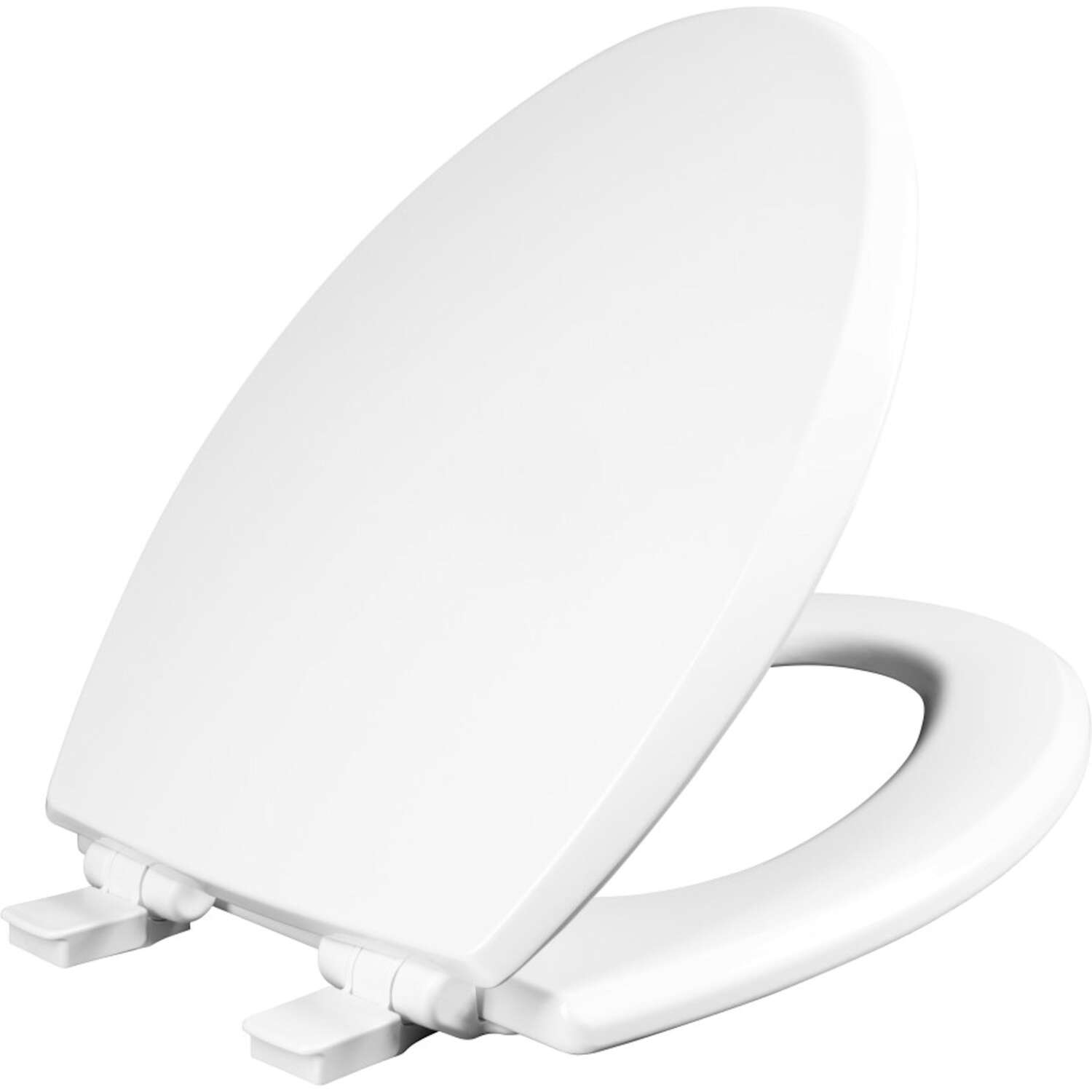 Mayfair  Kendall  Slow Close Elongated  White  Enameled Wood  Toilet Seat