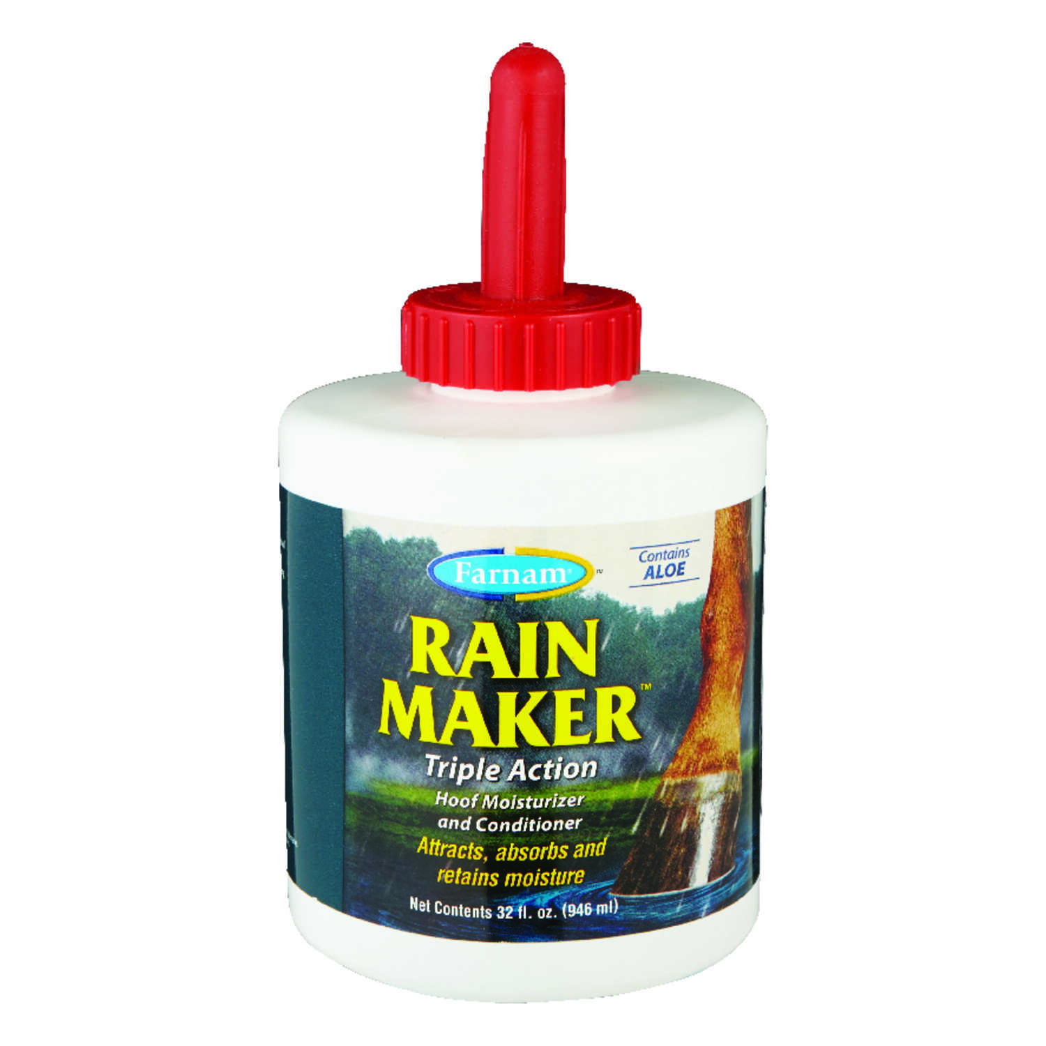 Farnam  Rain Maker  Hoof Conditioner  For Horse 32 oz.