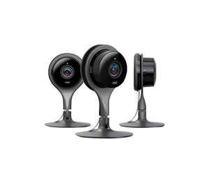 Google  Nest  Plug-in  Indoor  Black  Wi-Fi Security Camera