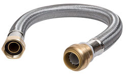 SharkBite  12 in. Stainless Steel  Supply Line