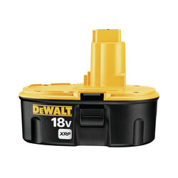 DeWalt XRP 18 volt 2.4 Ah Ni-Cad Battery Pack 1 pc.