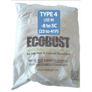 Ecobust  Type 4 23F to 41F  Expansive Demolition Agent  11 lb.