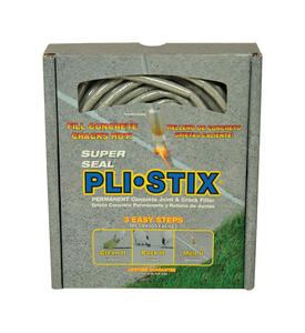 Super Seal  Pli-Stix  Flat  Gray  Concrete Patch and Repair  30 linear ft.