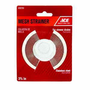 Ace  3-3/8 in. Dia. Mesh Strainer