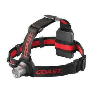 Coast  HL4  145 lumens Black  LED  Head Lamp  AAA