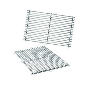 Weber  Genesis 300 Series  Stainless Steel  Grill Cooking Grate  0.6 in. H x 19.5 in. L x 12.9 in. W