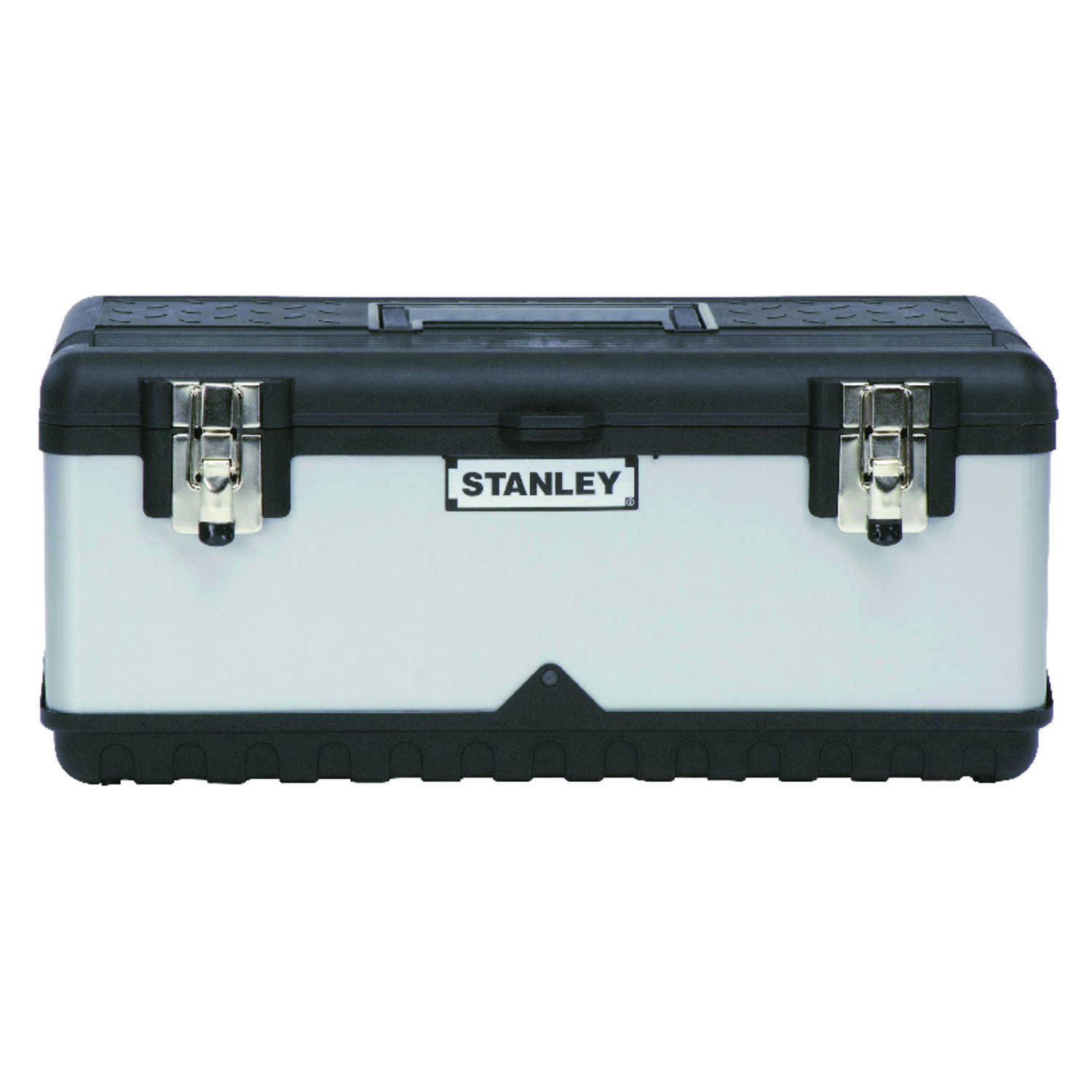 Stanley  19 in. 11 in. W x 8 in. H Tool Box  Metal/Plastic  Black