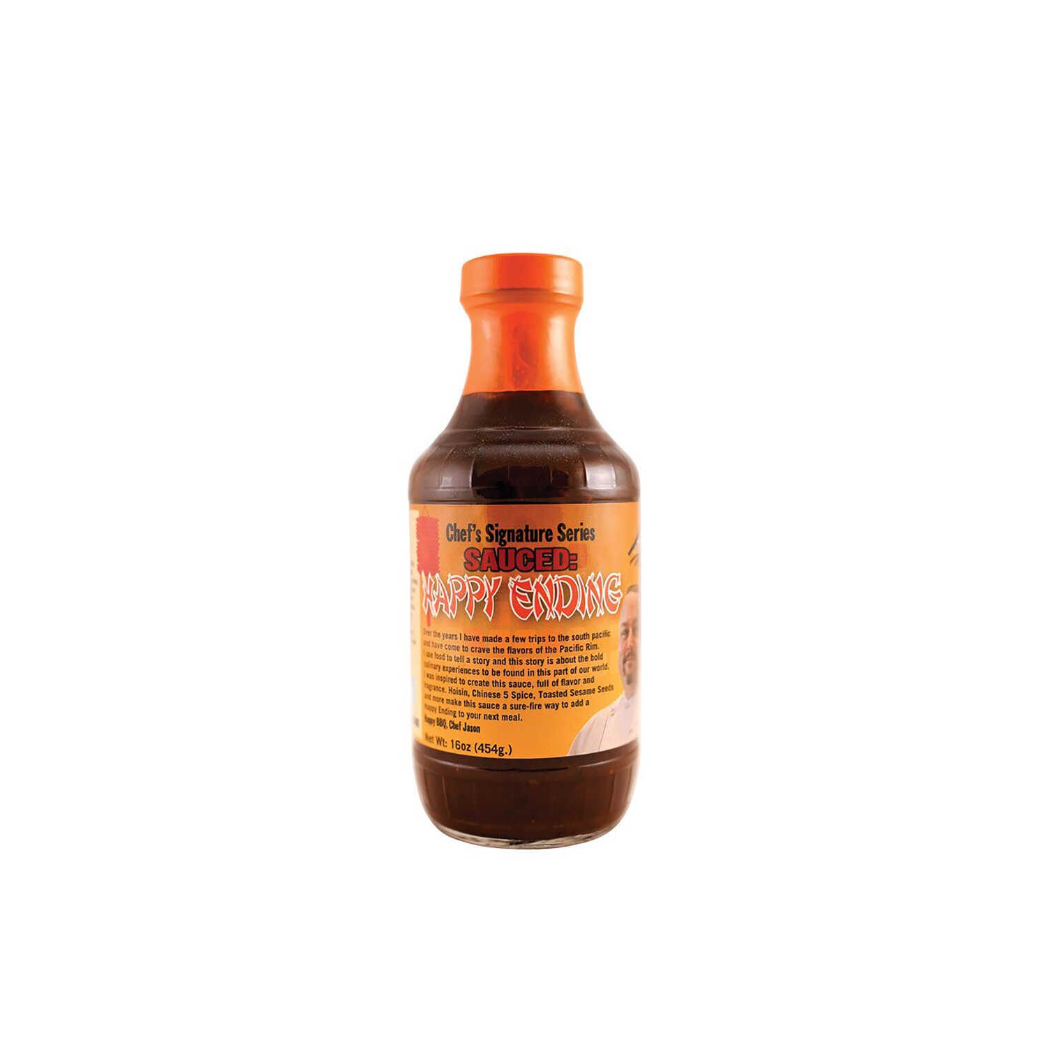 5280 Culinary  BBQ Provisions  Happy Ending  BBQ Sauce  16 oz.