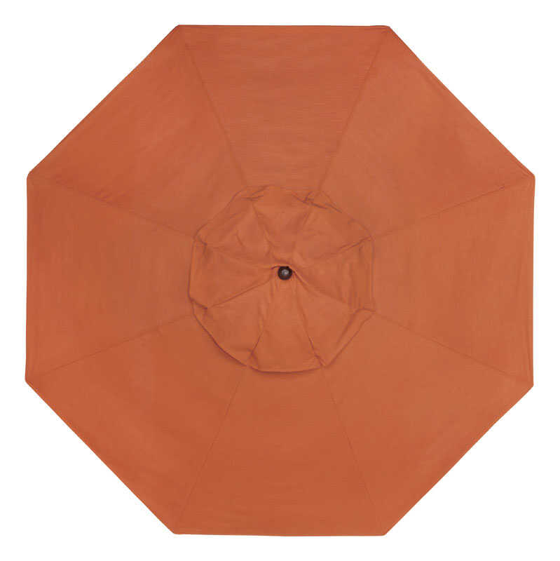 Sunline  Traditional  9 ft. Tiltable Cayenne  Market Umbrella