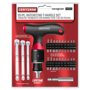 Craftsman  1/4 in.  T-Handle Screwdriver  1 pc.