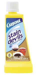 Carbona  Stain Devils Wine, Tea, Coffee, & Juice  No Scent Stain Remover  Liquid  1.7 oz.