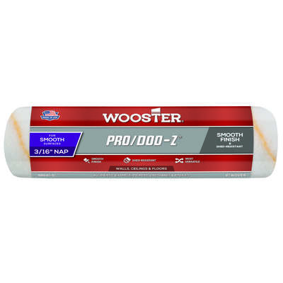 Wooster Pro/Doo-Z Fabric 9 in. W x 3/16 in. Paint Roller Cover 1 pk