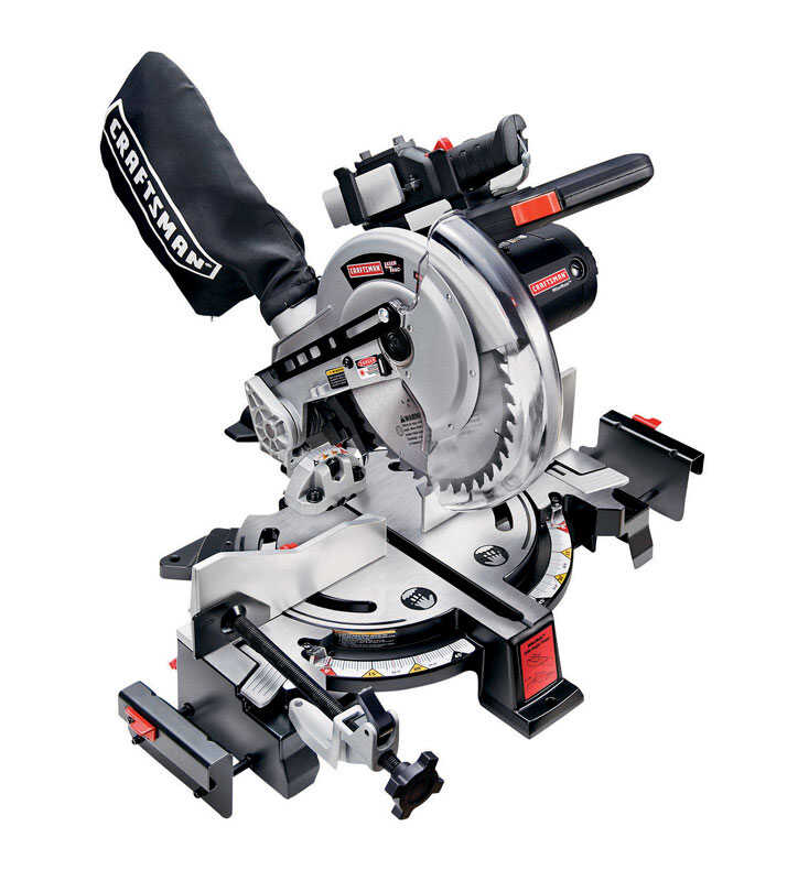 Craftsman  MiterMate  10 in. Corded  Miter Saw  120 volt 15 amps 4,800 rpm