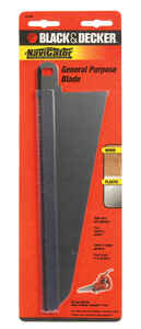 Black and Decker  NaviGator  8 in. L x 3 in. W Bi-Metal  Blade  10 TPI 1 pk