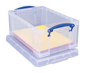 Really Useful Box  6-1/4 in. H x 10-1/4 in. W x 14-1/2 in. D Stackable Storage Box