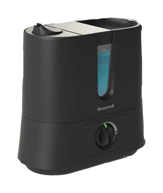 Honeywell  Ultrasonic  1.25 gal. 300 sq. ft. Manual  Humidifier