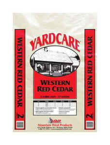 Yardcare  Western Red Cedar  Mulch  2 cu. ft.