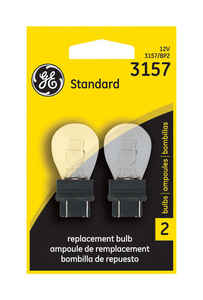 GE Lighting  13/14 volt 2 pk 3157-BP  Automotive Bulb