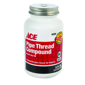 Ace  Gray  Pipe Thread Compound  8 oz.