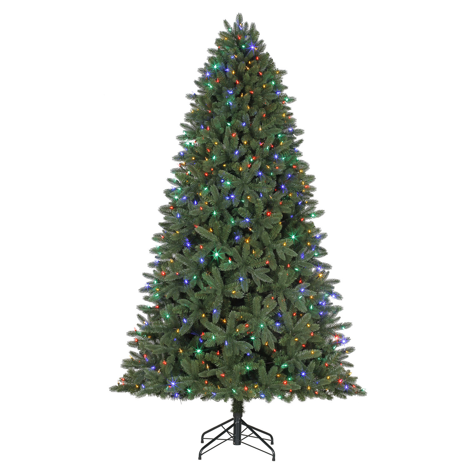 Celebrations 7 1 2 Ft Full Led 800 Count Grand Fir Color Changing Christmas Tree Ace Hardware